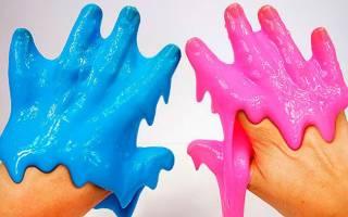 Как сделать игрушку Лизун своими руками