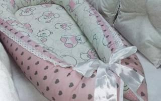 Кокон-гнездо для младенцев: мастер-класс
