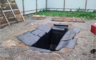 Гидроизоляция ямы в гараже от грунтовых вод