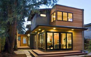 Как построить дом с плоской крышей?