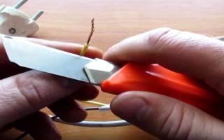 Как сделать простой кипятильник из лезвия бритвы