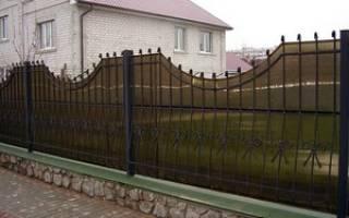 Ворота из профнастила и поликарбоната