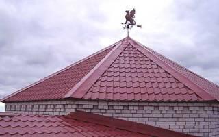 Сложные крыши из металлочерепицы