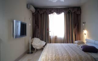 Современный дизайн спальни на 12 кв.м