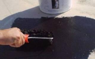 Битумная мастика для гидроизоляции кровли применение