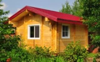 Как построить дом из двойного бруса?