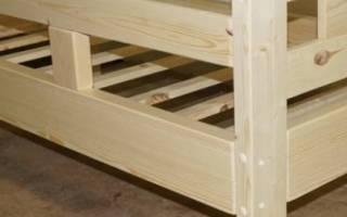 Как построить детскую кровать своими руками?