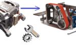 Мини гриндер для гаража из двигателя от стиральной машины