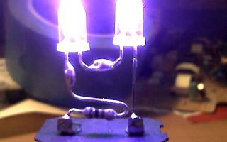 Как сделать ультрафиолетовую лампу за 5 минут