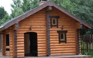 Как правильно построить баню из бревна?
