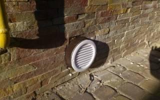 Приточная вентиляция в подвале частного дома