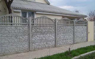 Еврозабор или забор из профнастила