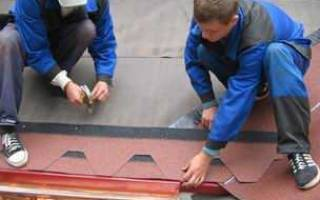 Как крепить мягкую черепицу на крышу?