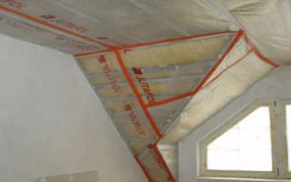 Как правильно уложить гидроизоляцию на потолок?