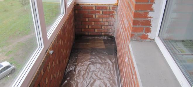 Как сделать гидроизоляцию на балконе?