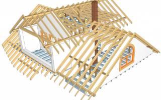 Как построить крышу на деревянном доме?