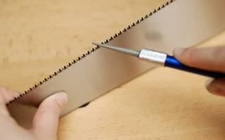 Как сделать ручную шлифовальную «ножовку»