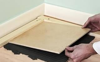 Гидроизоляция под плитку на деревянный пол