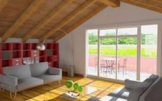 Как построить мансарду в частном доме?
