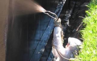 Жидкая гидроизоляция для фундамента