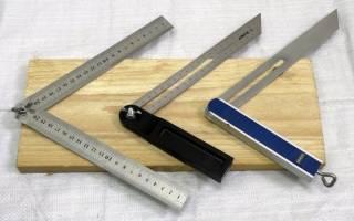 Простой удобный угломер из обрезков стальной полосы