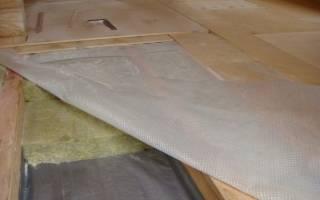 Гидроизоляция для деревянного пола в частном доме