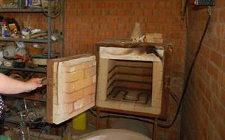 Мини-печь для плавки и закалки металла