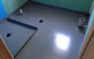 Гидроизоляция пола в ванной комнате до стяжки