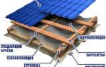 Как сделать обрешетку под металлочерепицу на крышу?