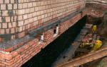 Устройство горизонтальной гидроизоляции кирпичных стен