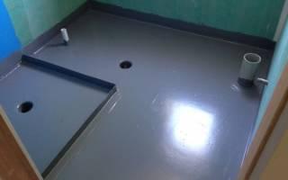 Акриловая гидроизоляция для ванной