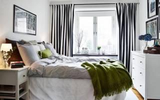 Дизайн спальни 10 кв. м