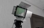 Домашние «прожекторы» для фото- или видеосъемки в помещении