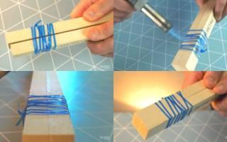 Приспособа для мытья банок из пластиковой бутылки