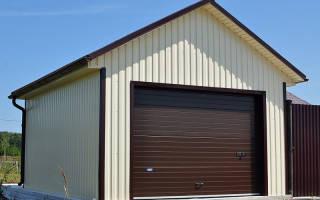 Как построить гараж из профиля своими руками?