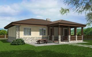Дома 10*12 м: варианты проектов