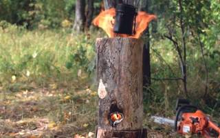 Скобы для скрепления бревен в виде финской свечи