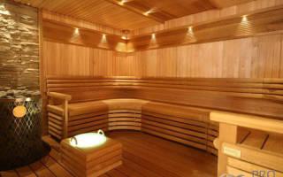 Как построить потолок в бане?