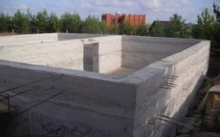 Армирование цоколя из бетона